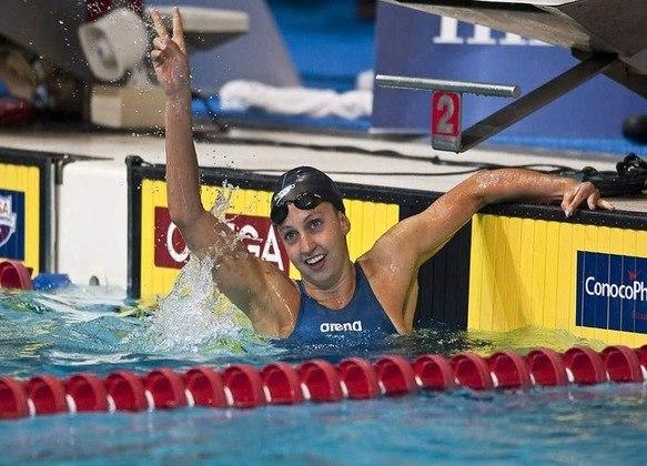 Nos 200m peito, o recorde olímpico pertence a Rebecca Soni. A nadadora, que defende os Estados Unidos, completou a prova em 2min19s59 nos Jogos Olímpicos de Londres, em 2012.