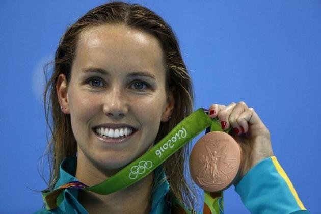 Nos 4x100m livre, a equipe da Austrália bateu o recorde no Rio de Janeiro. O feito foi obtido pelo quarteto formado por Emma McKeon (foto), Brittany Elmslie, Bronte Campbell e Cate Campbell.