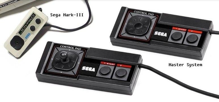 Nos anos 1980, a Nintendo revolucionou o formato dos controles com o 'joypad'. Em 1985,