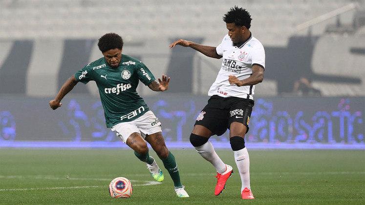 Nos clássicos até a final, o Palmeiras não conseguiu vencer: empatou em 0 a 0 contra São Paulo e Santos e perdeu de 1 a 0 para o Corinthians. No primeiro jogo de ida da decisão contra o Alvinegro, novo empate sem gols e mais um empate na finalíssima por 1 a 1, vencendo nos pênaltis.