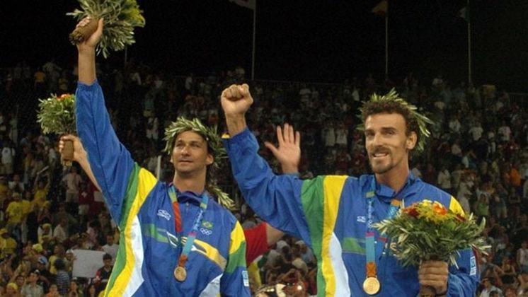 Nos Jogos de 2004, a dupla Ricardo e Emanuel conquistou a primeira medalha de ouro da história do vôlei de praia masculino do Brasil. Na final, eles bateram os espanhóis Bosma e Herrera.