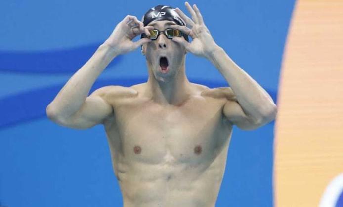 Nos Jogos de Pequim, em 2008, Michael Phelps conquistou oito ouros, quebrando o recorde olímpico. O nadador dos Estados Unidos é o maior medalhista da história dos Jogos, com 28