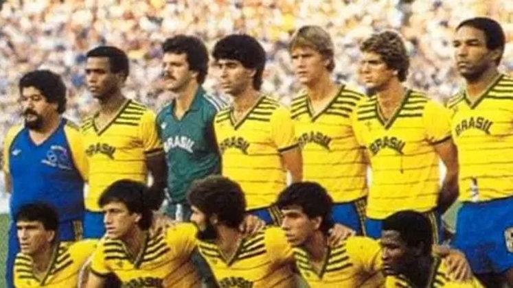 Nos jogos Olímpicos de 1984, a Seleção Brasileira voltou a medir forças com a Alemanha Ocidental. A equipe que tinha base do Internacional de nomes como o goleiro Gilmar, do zagueiro Mauro Galvão, do volante Dunga e do atacante Kita, levou a melhor com o 1 a 0, graças ao gol de Gilmar Popoca. Curiosamente, assim como em Tóquio, a Alemanha (mas na época a Ocidental) e a Arábia Saudita estavam no mesmo grupo da equipe canarinha.
