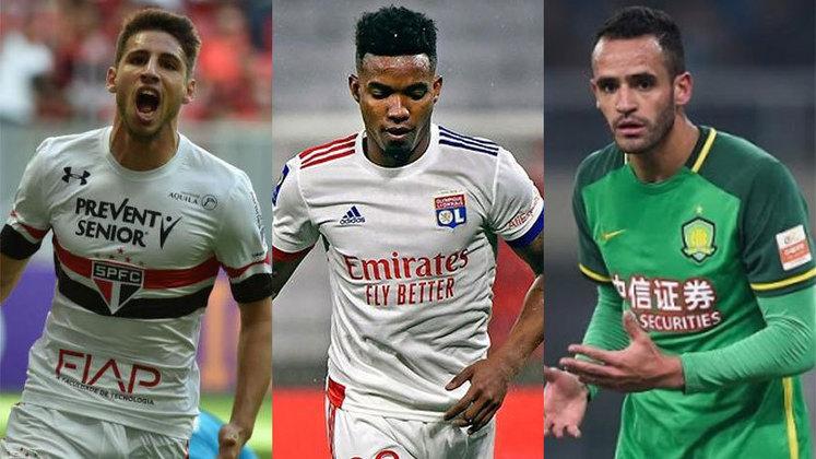 Nos últimos dias, jogadores importantes estão sendo especulados em equipes brasileiras. Confira quem pode ser reforço do seu time: