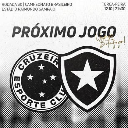 Nos últimos dias, uma imagem publicada nas mídias sociais do Botafogo gerou polêmica com a torcida do Cruzeiro. A arte, que divulgava o próximo confronto do alvinegro carioca, foi produzida toda em preto e branco, deixando o escudo do time mineiro com as cores do maior rival, Atlético-MG e gerando uma enxurrada de críticas no post. Porém, não é a primeira vez que vemos um time trocar de cores com o maior rival. Em brincadeiras que circulam nas redes sociais, a inversão faz sucesso, apesar de não agradar os mais apaixonados. Confira alguns exemplos! (Por Humor Esportivo)