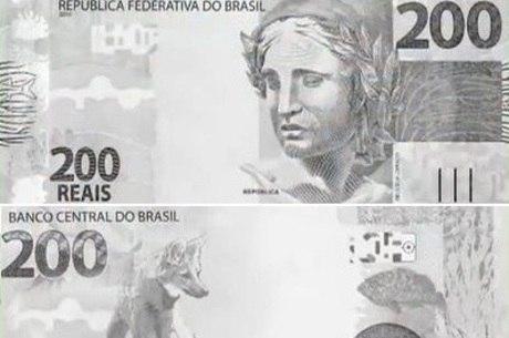 Nota de R$ 200 será ilustrada com a figura do lobo-guará