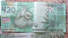 Idoso recebe nota de R$ 420 e dá troco de R$ 320 em Unaí (MG)