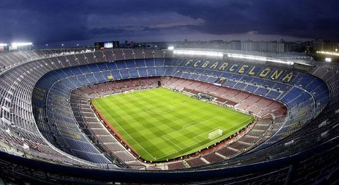 O Nou Camp do Barcelona