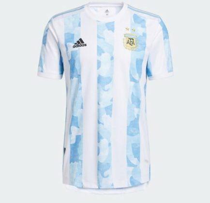 Nova camisa 1 da Argentina