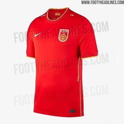 Nova camisa 1 da China