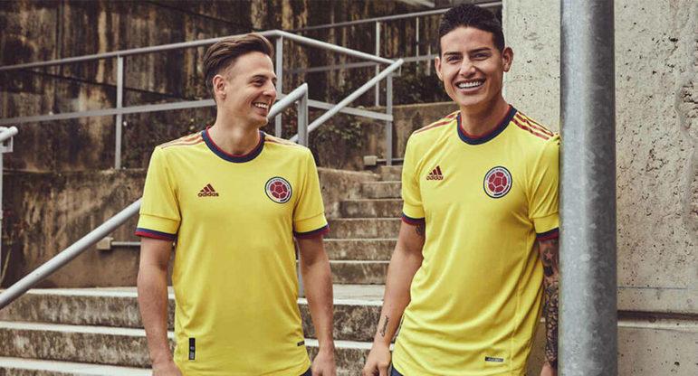 Nova camisa 1 da Colômbia