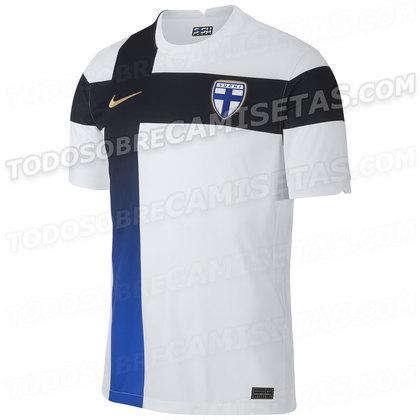 Nova camisa 1 da Finlândia