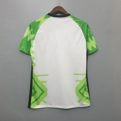 Nova camisa 1 da Nigéria - Uniforme lançado em 6 de fevereiro, mas ainda não utilizado em campo.