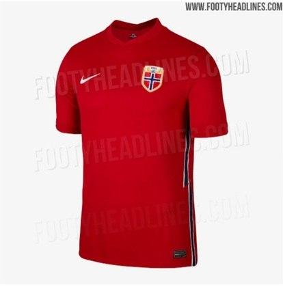 Nova camisa 1 da Noruega