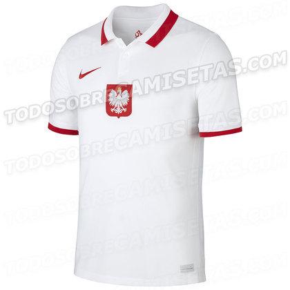 Nova camisa 1 da Polônia