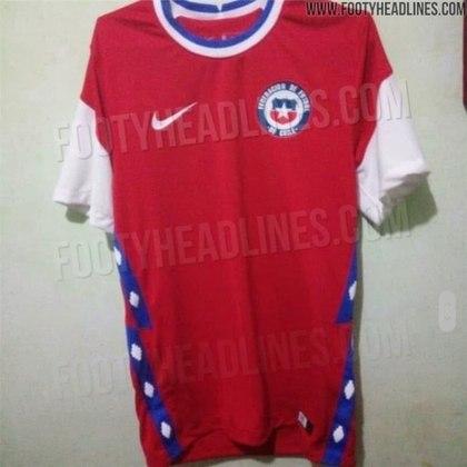 Nova camisa 1 do Chile