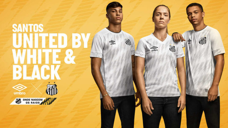 Nova camisa 1 do Santos