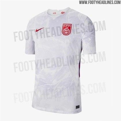 Nova camisa 2 da China