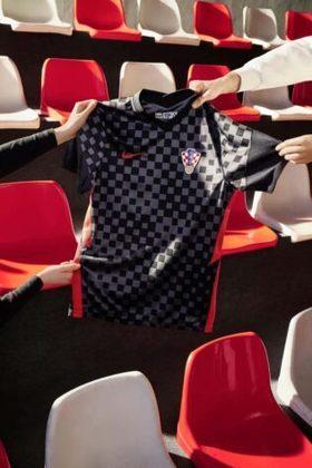 Nova camisa 2 da Croácia