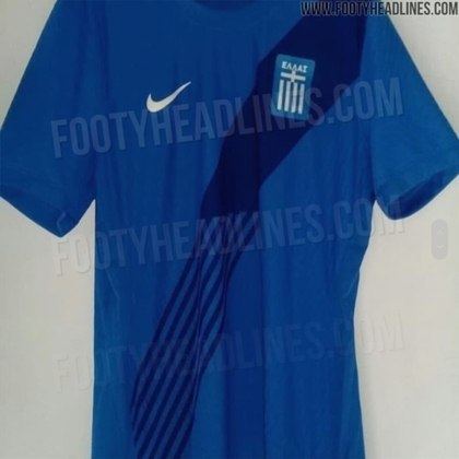 Nova camisa 2 da Grécia