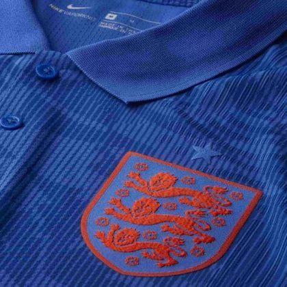 Nova camisa 2 da Inglaterra