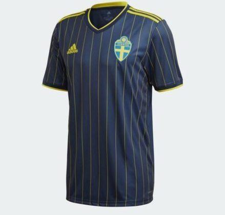 Nova camisa 2 da Suécia