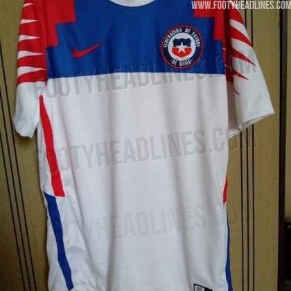 Nova camisa 2 do Chile