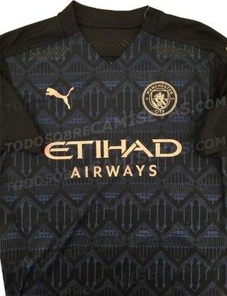 Nova camisa 2 do Manchester City