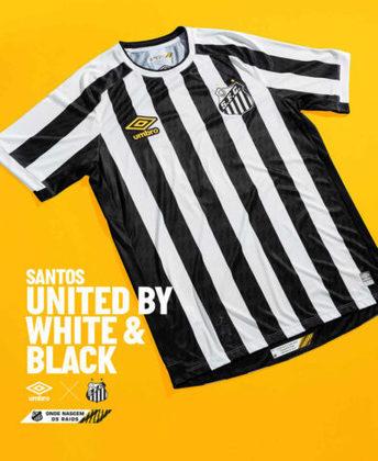 Nova camisa 2 do Santos
