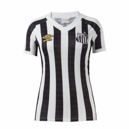 Nova camisa 2 do Santos - Modelo feminino