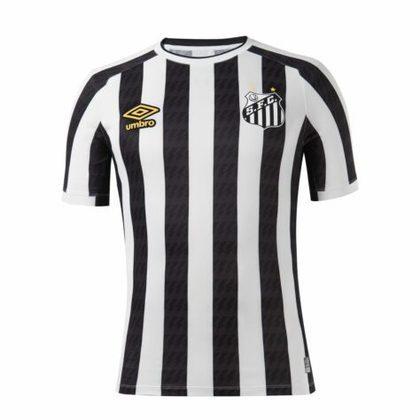 Nova camisa 2 do Santos - Modelo masculino