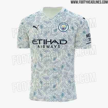Nova camisa 3 do Manchester City