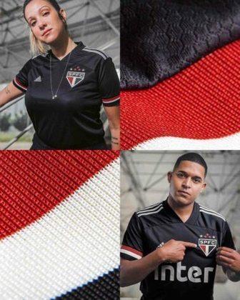 Nova camisa 3 do São Paulo