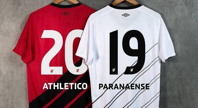 Nova camisa do Athletico Paranaense