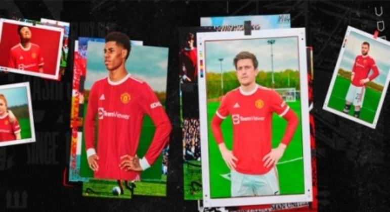 nova camisa do Manchester United