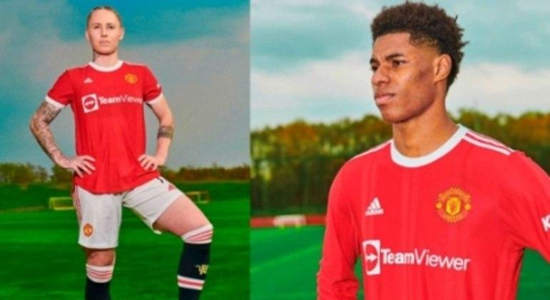 Nova camisa Manchester United.