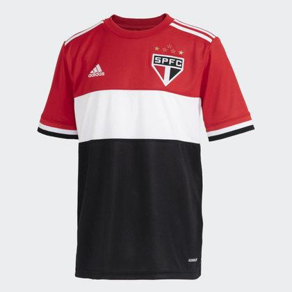 Nova camisa três do São Paulo