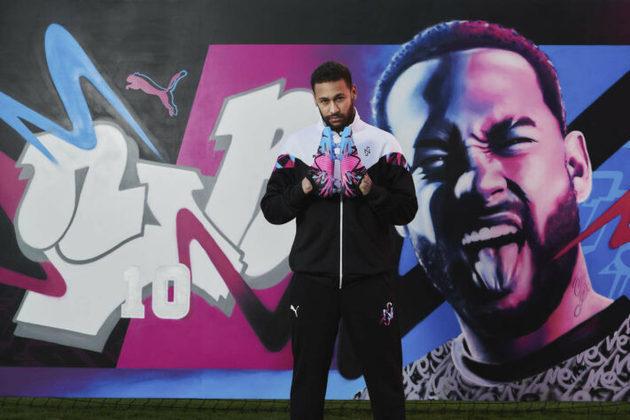 Nova chuteira de Neymar, a Puma Future Z 1.1. Creativity