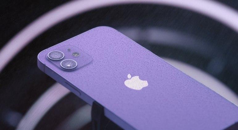 O roxo é a nova cor do iPhone 12 e iPhone 12 Mini