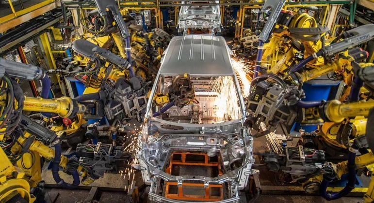 GM aproveitou a suspensão da produção do Tracker por falta de chips e semicondutores em São Caetano do Sul para acelerar as obras de adequação da fábrica