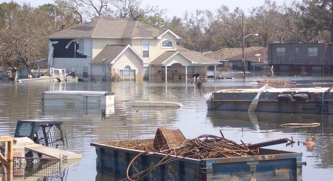 Furacão Katrina atingiu Nova Orleans em 2005