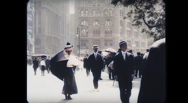 Nova York em 1911 em 60FPS e 4K