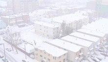Forte tempestade de neve chega ao nordeste dos Estados Unidos