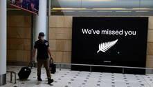Nova Zelândia suspende bolha de viagens com a Austrália