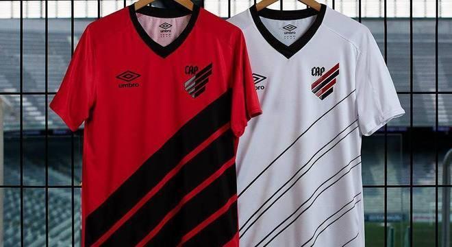 Atlético-PR modou de nome, escudo e apresentou suas novas camisas