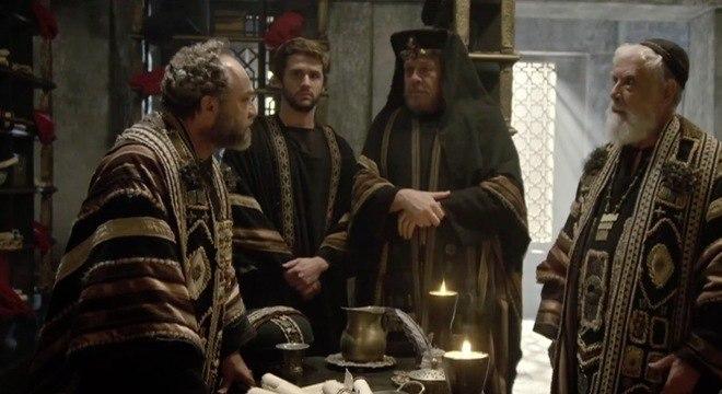Anás descobre que Caifás ordenou a morte de Levi por vingança