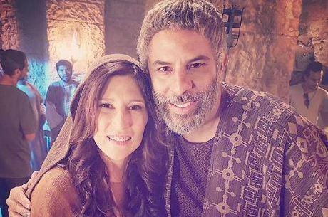 """Beth Goulart e Luka Ribeiro do elenco de """"Jesus"""""""