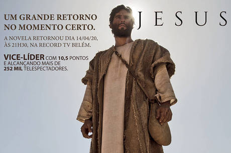Novela 'Jesus' faz sucesso na Record TV