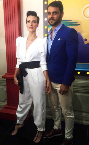 Camila Rodrigues e Felipe Cunha, protagonistas de Topíssima