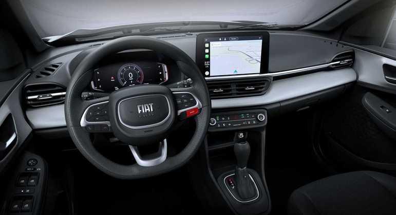 SUV compacto terá um painel digital de 7 polegadas